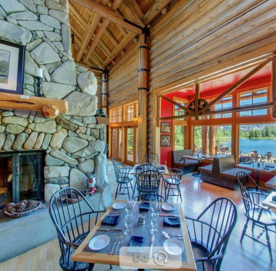 Lodge on The American Alps tour