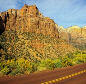 Mountains on Bryce and Zion National Parks tour