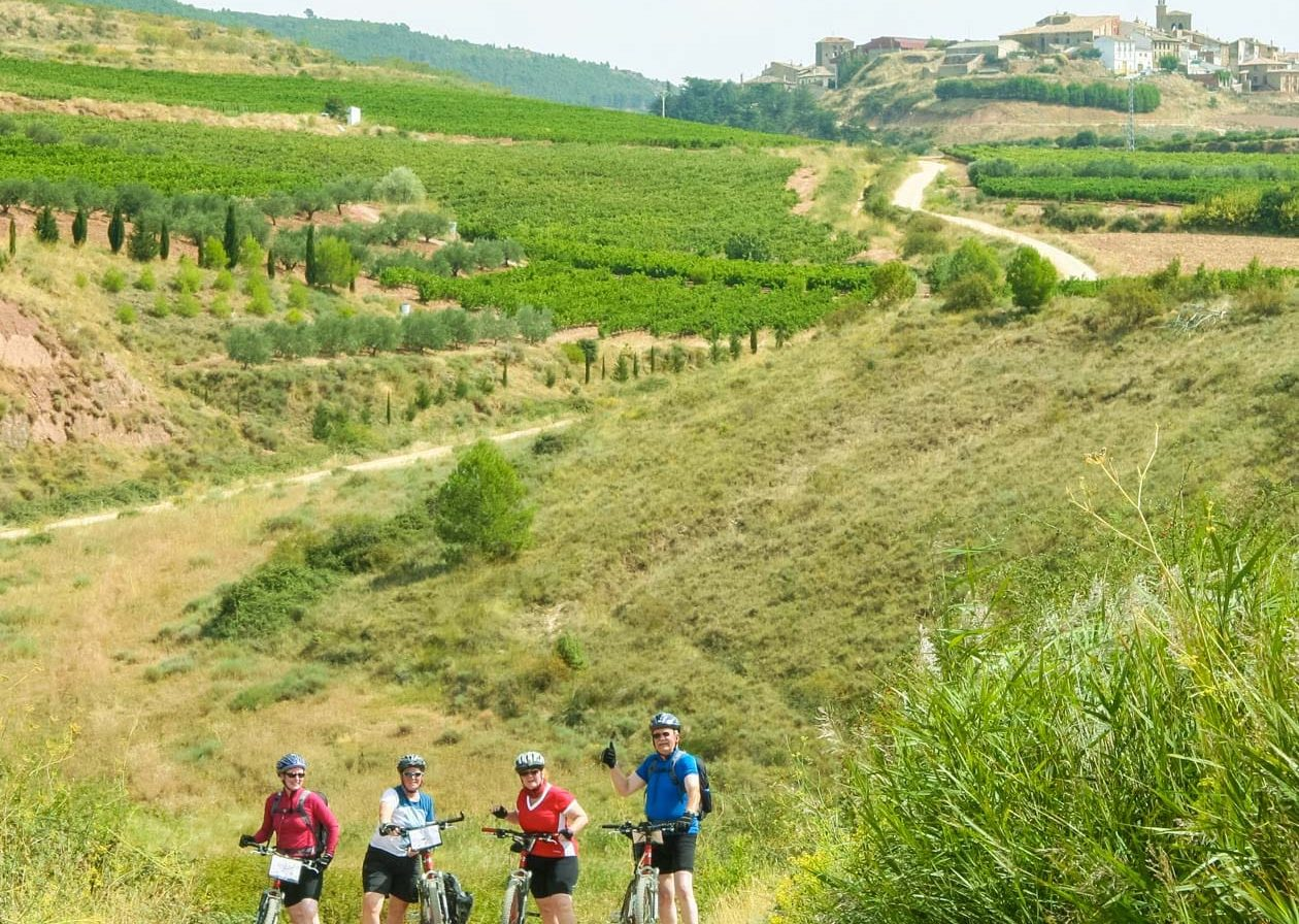 Bikers on the Camino De Santiago tour