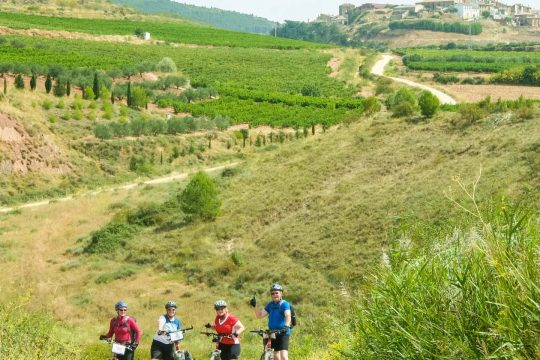 Bikers on the Camino De Santiago tour