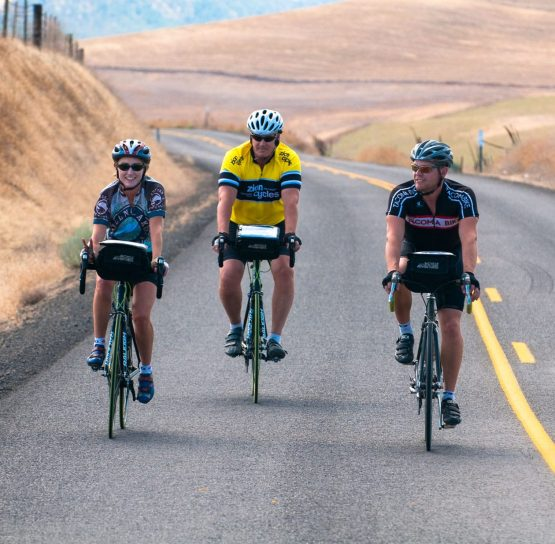 Bikers on Colombia Gorge Bike tour