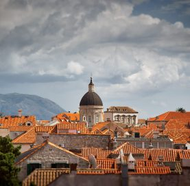 City scene on the Croatia - Dalmatian Coast tour