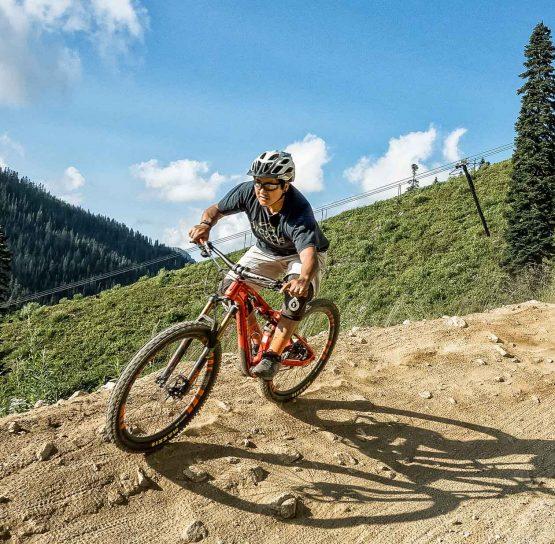 Biking on the Mountain Bike Leavenworth – Advanced tour