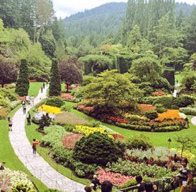 Botanical gardens on the San Juan Islands – Victoria Bike Tour