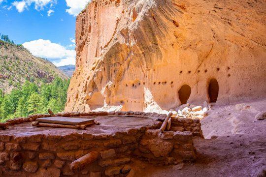 Cave on Santa Fe-Taos Bike Tour