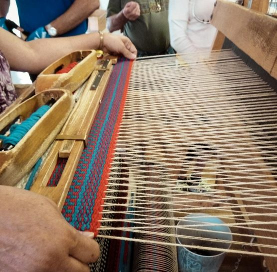 Learning to loom on the Santa Fe-Taos Bike Tour