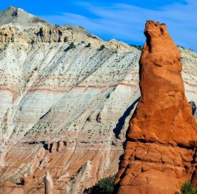 Rock formation on the Southern Utah National Parks tour
