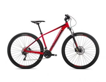 red trail bike