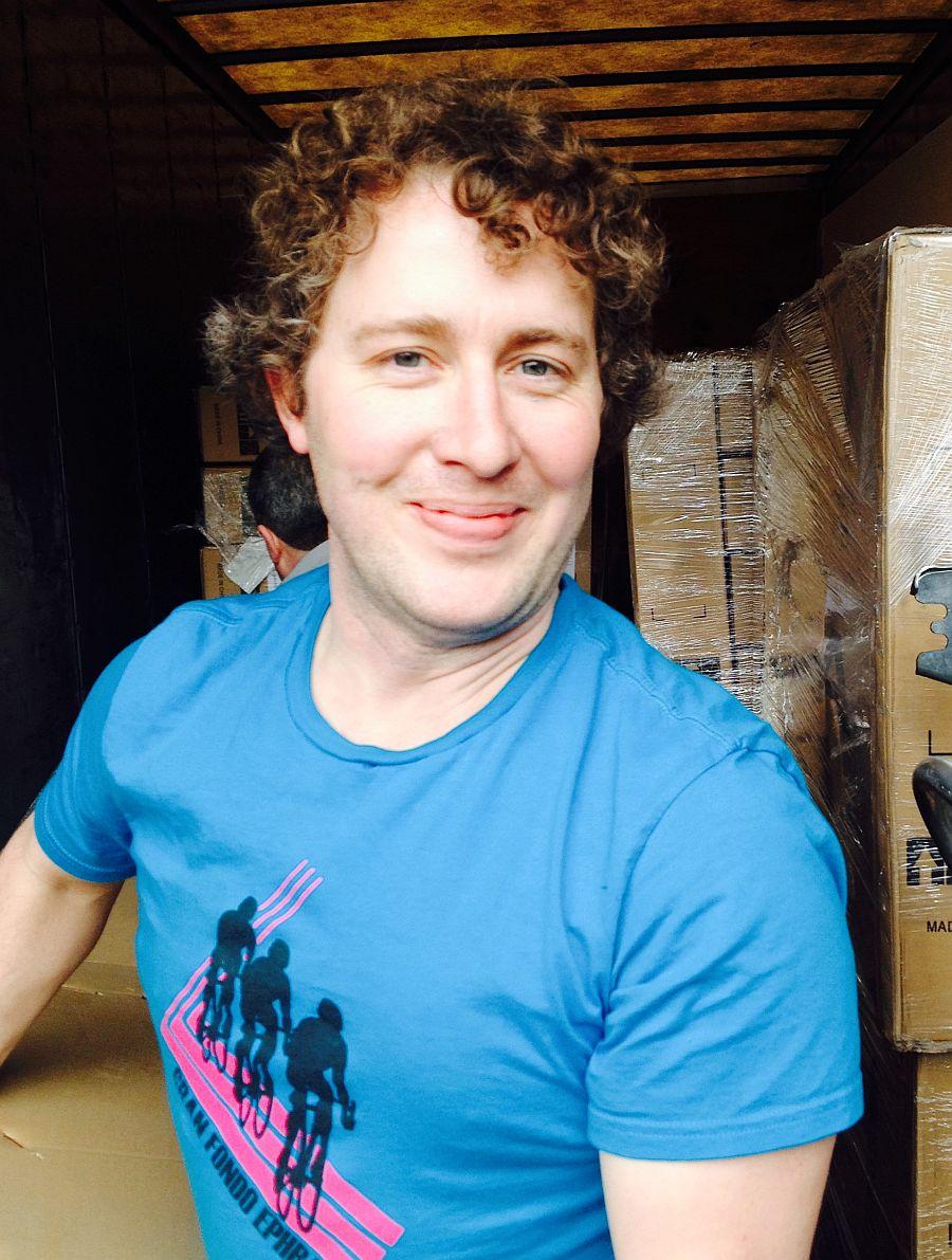 Matt Paul - one happy Operations Director! 2