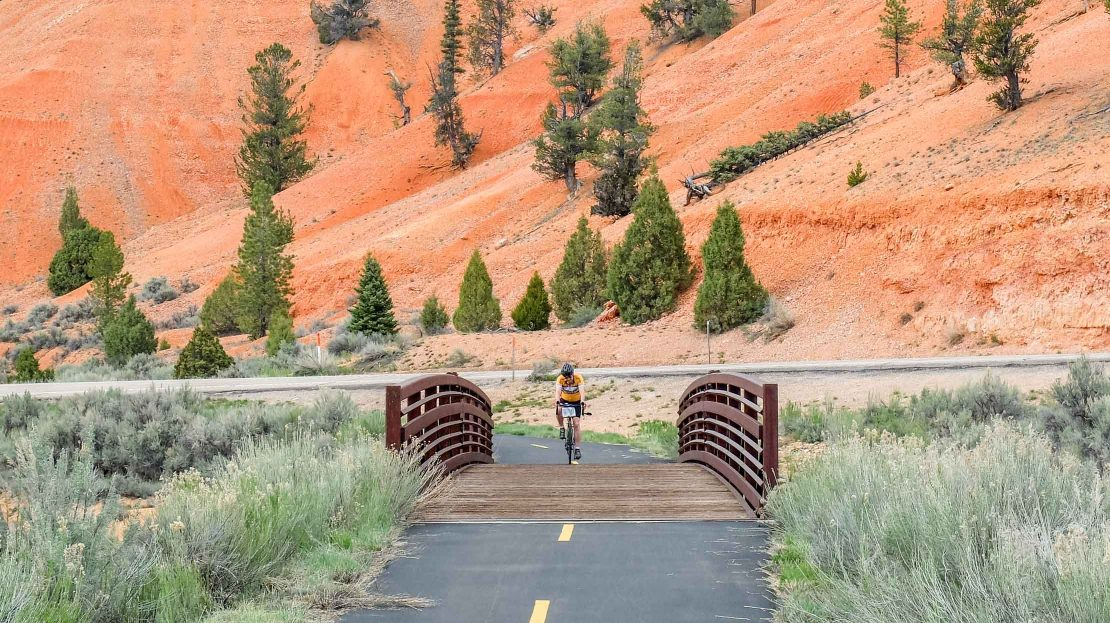 Biking in Bryce