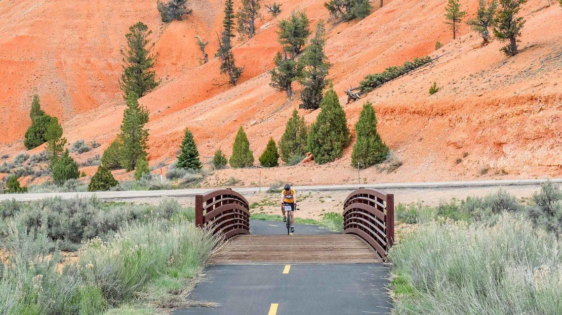 Biking in Bryce