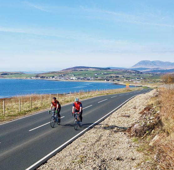 Biking on the Scotland's Isle of Arran tour