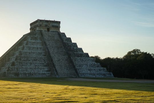 Pyramid on Mexico's Yucatan tour