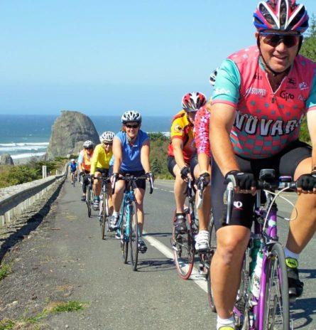 Cycling on the Oregon Coast