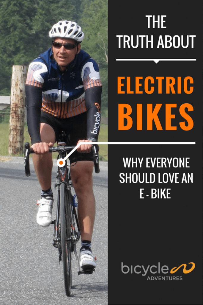 Here's why Todd Starnes, owner and president of Bicycle Adventures thinks everyone can learn something by getting on an e-bike.