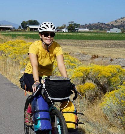 renee mccanles mountain biking